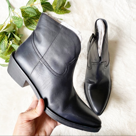 Vintage Foundry Arielle Western Ankle Booties